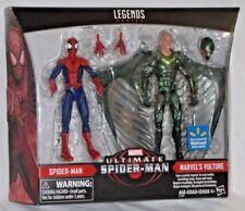 WALMART Exclusive Marvel Legends ULTIMATE SPIDERMAN vs VULTURE Action Figure set