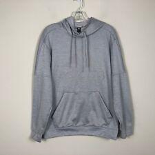 Adidas Hoodie Men's Small Gray Long Sleeve Sweatshirt