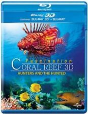 Fascination Coral Reef 3D - Hunters and the Hunted 3D Blu Ray Gift Idea Demo A+