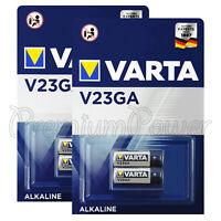 4 x Varta Alkaline V23GA batteries 12V 8LR932 23A MN21 4223 FREE Shipping
