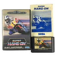 Super Hang-On Sega Mega Drive Game Complete With Manual
