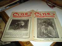 rivista cinema CINE SORRISO ILLUSTRATO anno IV° N. 49 - 2/12/1928 JANINE PEN