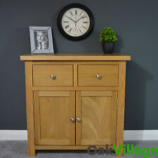 Oakley Oak Sideboard Small / Oak Cupboard / Solid Wood / Storage Dresser /  New