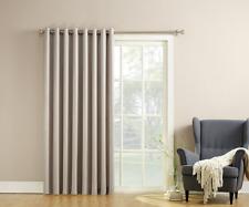 Door Curtains Stone Beige Panels Patio Sliding Glass Outdoor Patio Grommets Fit