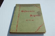Rare Catalogue Orfèvrerie argent Boulenger Paris  - Art nouveau