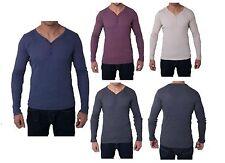 Unbranded Stretch T-Shirts for Men Deep V