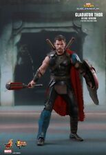 """Thor 3 Ragnarok Gladiator Thor 12"""" 1/6 Scale Deluxe Hot Toys Figure Hotmms445"""