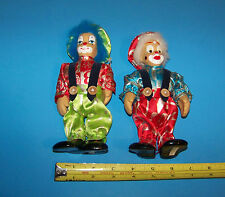 Clown Figures / Dolls (Set of Two)