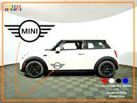 Adesivo MINI Cooper nuovo logo vinile spaziato per tuning personalizzazione auto