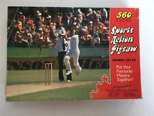 Vintage 70s Dennis Lillee Sports Action Jigsaw World Series Cricket Test Match