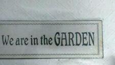 Markenlose Deko-Schilder & -Tafeln für den Garten