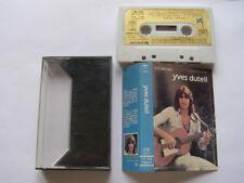 K7 yves duteil: cassette d'or