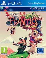 Frantics Playlink Sony Playstation PS4 MINT - Same Day Dispatch via Fast Deliver