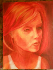 tableau art oeuvre unique peinture huile n°6 40x50cm