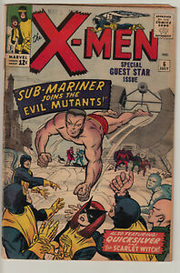 "Uncanny X-Men #6 - VG - ""Sub-Mariner joins the Evil Mutants!"""