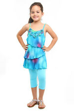 NWT Haven Girl Tie Dye Tunic and Legging Set ~ Size 14