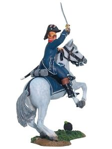 W Britain Toy Soldiers 17885 Napoleonic French 1st Light Infantry Officer