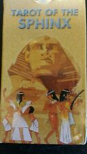 Tarot of the Sphinx 1st edition by Lo Scarabeo 1998 in shrink wrap! VERY RARE!