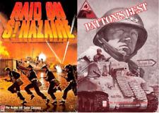 Raid sur St. Nazaire-Patton 's Best 2 Wargames Format PDF Avalon Hill WW2 DVD