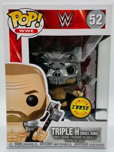 FUNKO POP TRIPLE H SKULL KING #52 WWE WRESTLING CHASE LIMITED EDITION