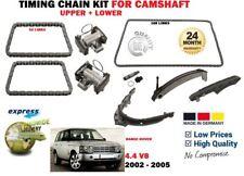 Range Rover Mk3 L322 4.4 Kit de la cadena de distribución superior izquierda o derecha de 02 a 05 M62B44