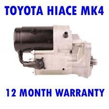 TOYOTA HIACE MK4 MK IV 2.4 1995 1996 1997 1998 1999 - 2006 STARTER MOTOR