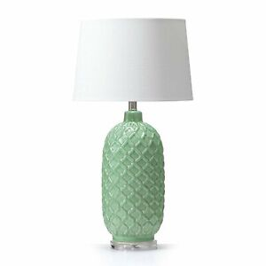 Morocco Ceramic Table Lamp Mint