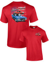 Mens Dodge Car Truck Automobile American Made Challenger Adult T Shirt