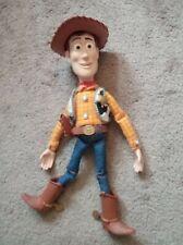 Vintage  Disney Pixar Toy Story Pull String Talking Woody Thinkway WORKS!