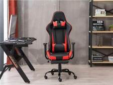 Luxury Office Racing Reclining Rotatable PU Leather Seat Computer Gaming Chair