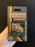 Kingdom Consoles -Fantasia- Sorcerers Apprentice Mickey Disney Pin Limited LE 4k