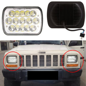 H4 15LED High+Low HID Headlight Bulb Work Lamp IP68 For Off Road Truck SUV Jeep