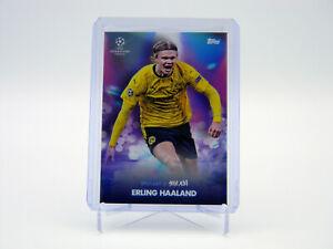 Erling Haaland Borussia Dortmund 2021 Topps Festival Spotlight Steve Aoki UEFA