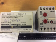 Square D 8430 DUA 2 AC/DC Voltage Control Relay