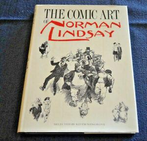 THE COMIC ART OF NORMAN LINDSAY (1987)