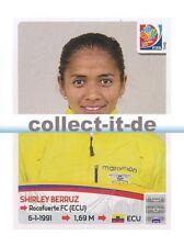 Panini Frauen WM World Cup 2015  - Sticker 234 - Shirley Berruz