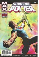°SUPREME POWER #8 POWERS & PRINCIPALITIES 2° US Marvel MAX 2003 J.M. Straczynski