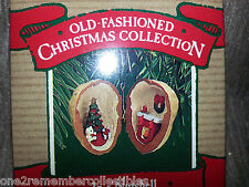 HALLMARK Keepsake 1987 IN A NUTSHELL Old Fashioned CHRISTMAS ORNAMENT New