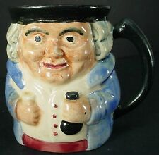 Shorter & Sons Ltd. Vintage Old Staffs Toby Jug crazing 3-7/8""