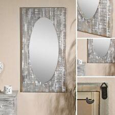 Wandspiegel Garderobenspiegel Ankleidespiegel Dielenspiegel braun Holz Shabby