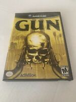 Gun Nintendo GameCube Game CIB Complete Activision w/ Case Manual FREE SHIPPING