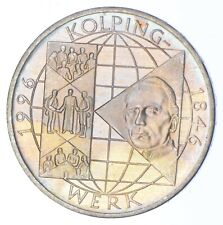 SILVER - WORLD Coin - 1996 Germany 10 Marks - World Silver Coin *972