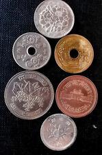 monedas  diferentes de Japon & bulk mixed coins of Japan