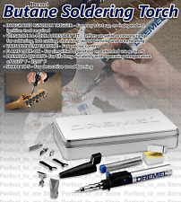 Butane Torch Precision Soldering Versa Tip Iron Flame Lock Hot Air Blower DREMEL