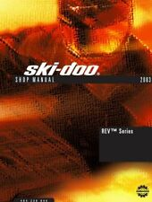 2003 Ski-Doo REV series MK Z 600 800 MKZ snowmobile service manual on CD