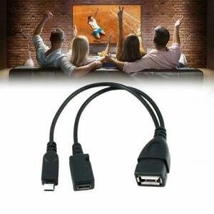 Micro USB Host OTG Cable with USB Power For Samsung Nexus HTC / / / Phones I2T2