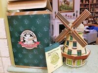 Members Only STEIN 2002 BEVO MILL w/COA & BOX Aneheuser-Busch Budweiser Windmill