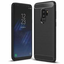 ShockProof Rugged Carbon Case For Samsung Galaxy S9 & S9 Plus Luxury Tpu Cover