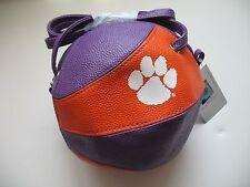 Clemson Tigers New Crossbody Basketball Bag Purse Handbag NCAA Licensed