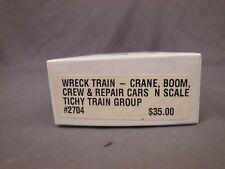 N SCALE TICHY TRAIN GROUP 2702 REPAIR CAR MOW KIT